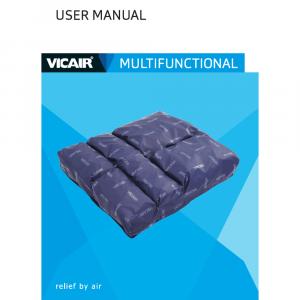 wheelchair cushion Vicair Multifunctional manual