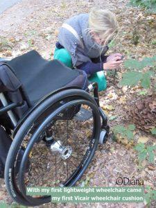 Vicair wheelchair cushion - user story Diana de Vos