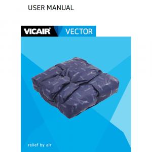 wheelchair cushion Vicair Vector manual