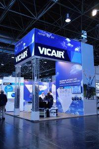 Vicair wheelchair cushions at exhibitions