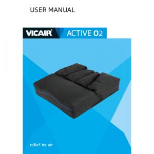 wheelchair cushion Vicair Active O2 user manual