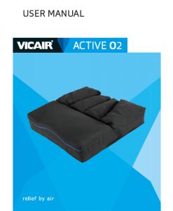 User manual wheelchair cushion Vicair Active O2