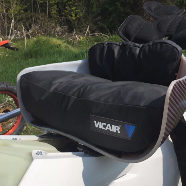 Wheelchair cushion Vicair Custom Made - Motor saddle
