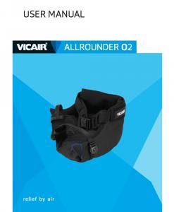 User manual activity cushion AllRounder O2