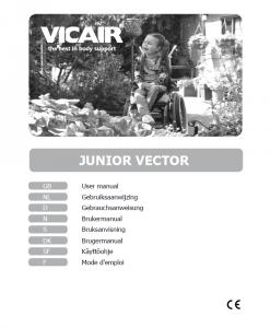 Vicair Junior Vector Childrens Wheelchair Cushion Manual