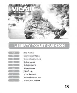 Vicair Liberty Toilet Seat Cushion Manual