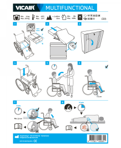 Vicair Multifunctional Wheelchair Cushion Quick Installation Guide