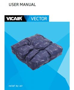 User manual wheelchair cushion Vicair Vector