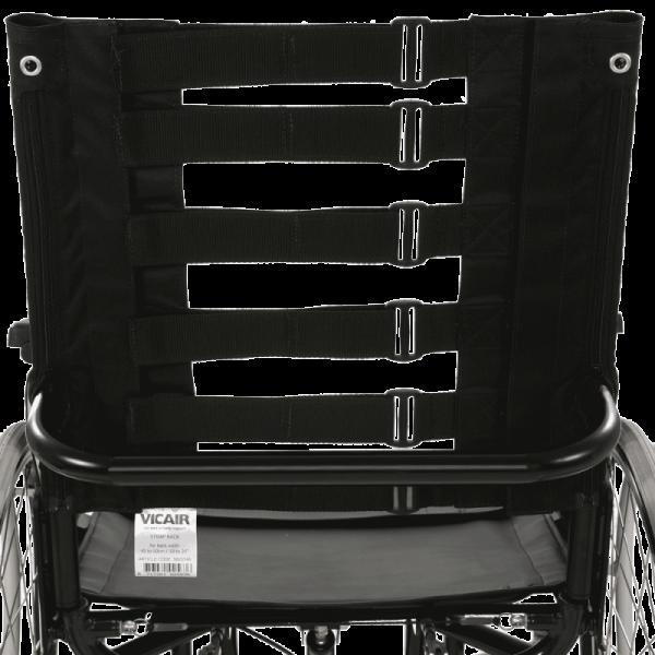 Vicair Strap Back on wheelchair rear