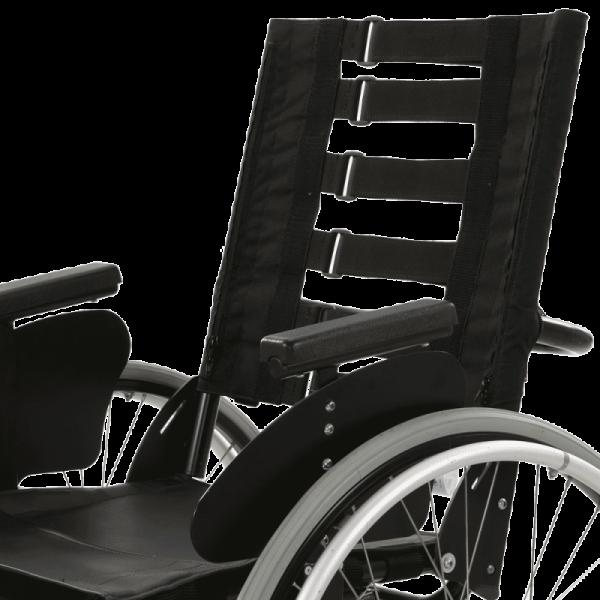 Vicair Strap Back on wheelchair