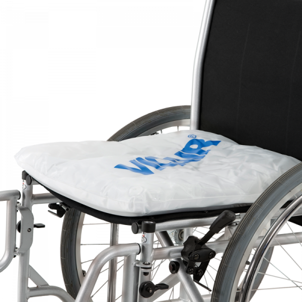 Wheelchair cushion Vicair Liberty Profile on wheelchair