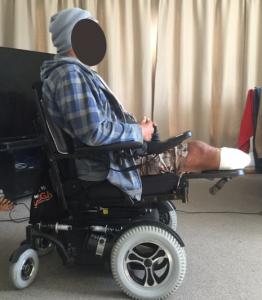 Wheelchair Cushion Vicair Adjuster 12 Clinical Case