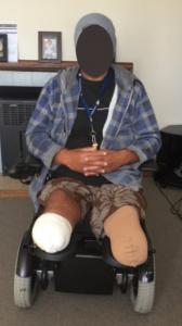 Clinical Case Wheelchair Cushion Vicair Adjuster 12