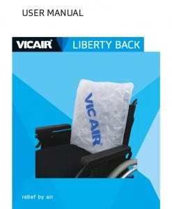 Vicair Liberty Back User Manual