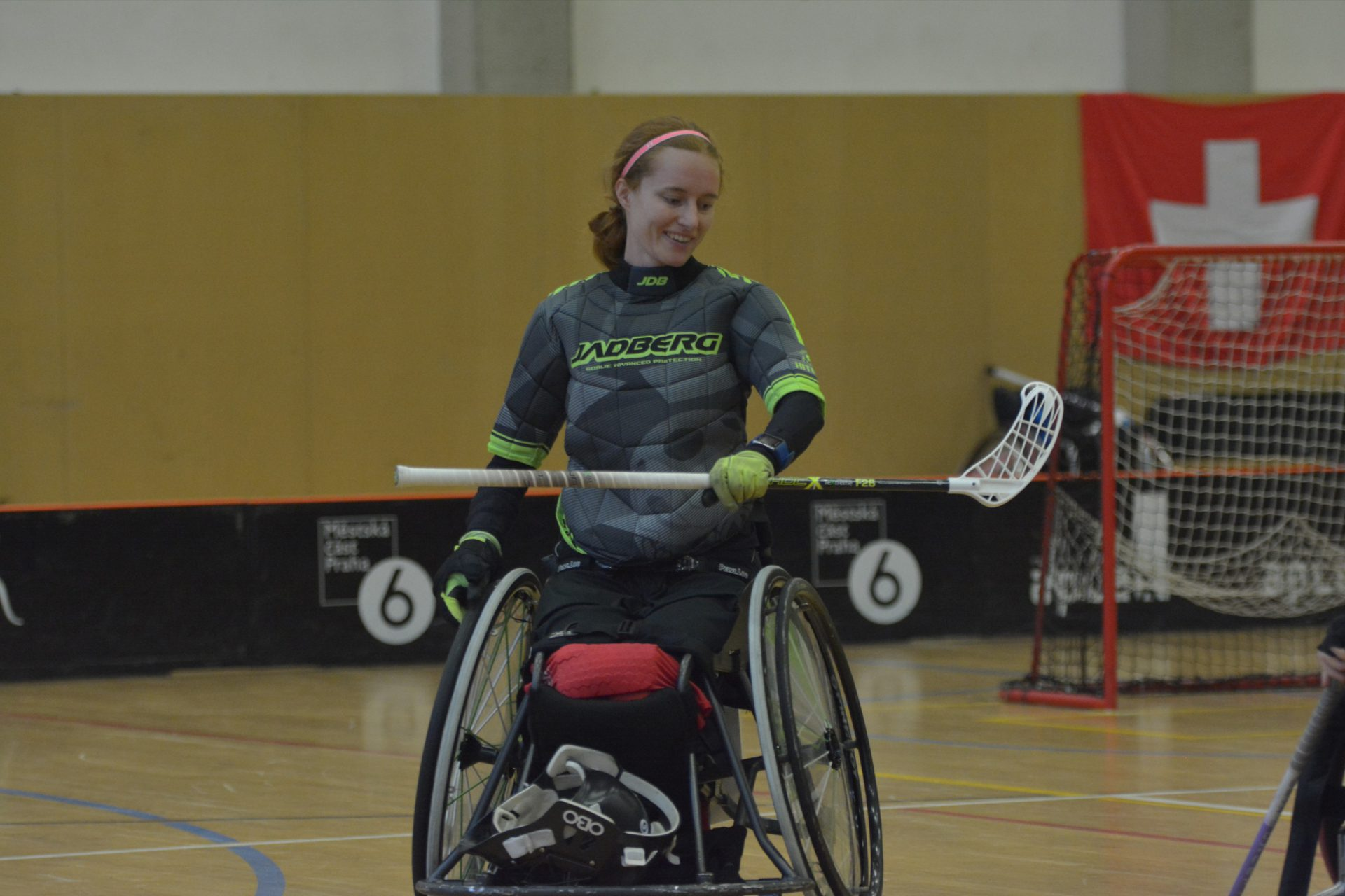 Haag88 Rolstoelhockey Teamfoto PWO