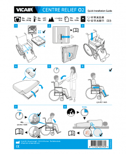 Vicair Centre Relief O2 Quick Installation Guide