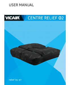 Vicair Centre Relief O2 user manual