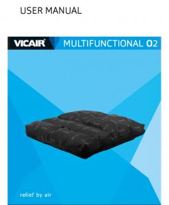 Vicair Multifunctional O2 user manual