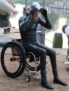 Geert Schipper Vicair IJsselmeer zwem