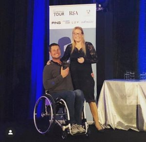 20191116 Jurgen winner wheelchair category EDGA Algarve Open - picture by EDGA
