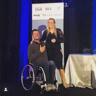 20191116 Jurgen winner wheelchair category EDGA Algarve Open - picture by EDGA