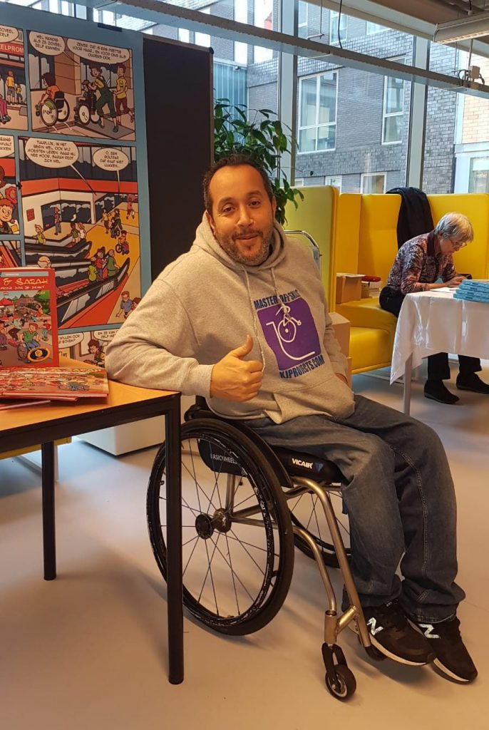 Mustafa Jebari testimonial Vicair Vector O2 - Wheelchair skills