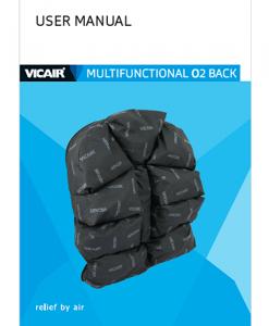 Vicair Multifunctional O2 back Manual