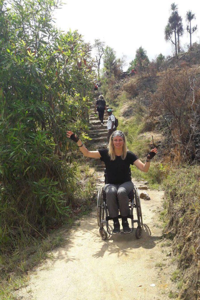 Vicair rolstoelkussen gebruikersverhaal Linda Vicair Active O2
