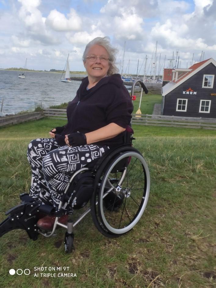User testimonial Vicair Custom Made Active O2 wheelchair cushion
