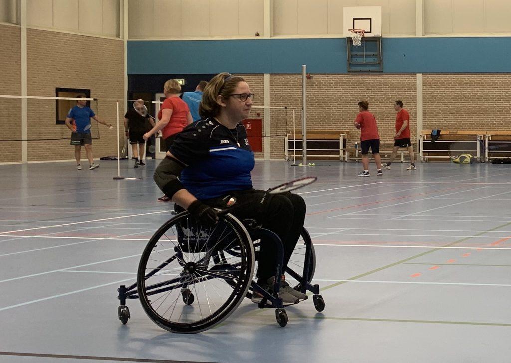 Rolstoelkussen Vicair Vector O2 rolstoel badminton