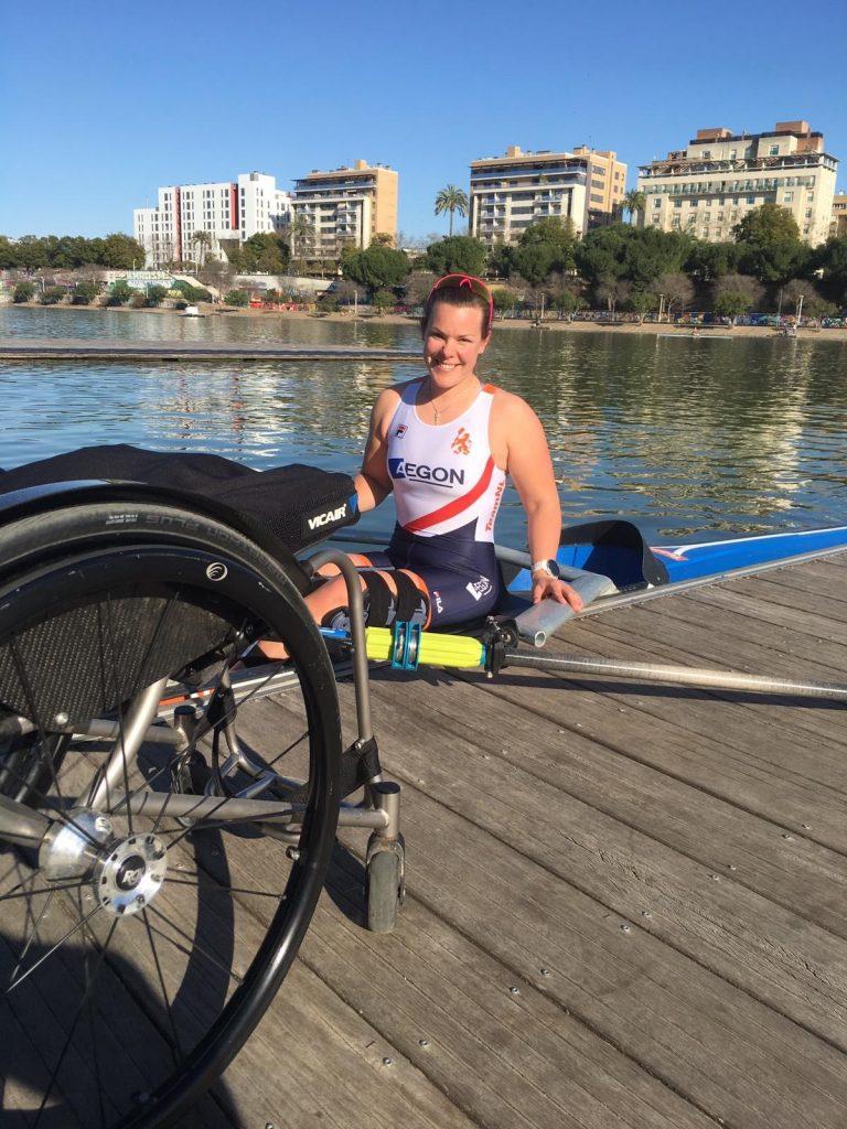 Vicair Wheelchair cushion Vicair Vector O2 Rowing