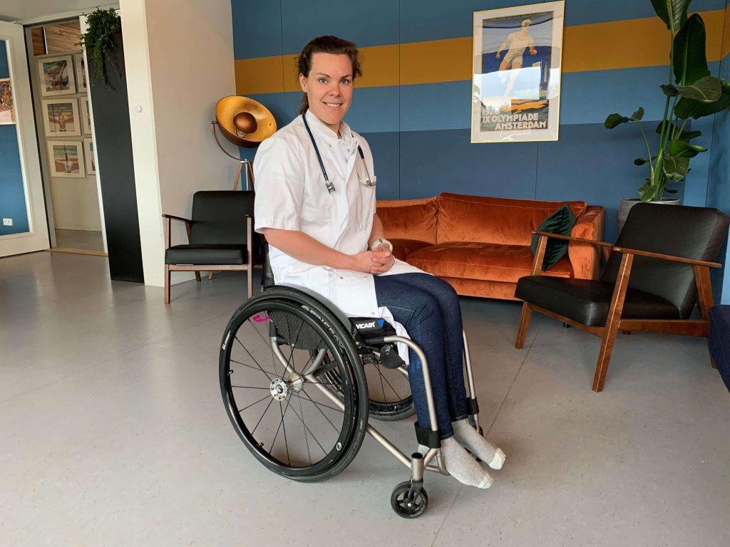 Vicair Vector O2 rolstoelkussen Annika arts