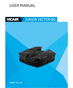Vicair Wheelchair Cushion Junior Vector O2 Manual