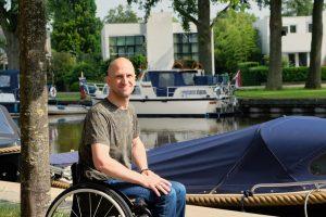 Vicair wheelchair cushions tennis Melvin Smid